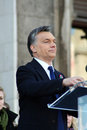 Viktor Orban the Hungarian prime minister Stock Photography