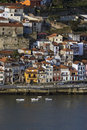Vila nova de gaia opposite porto portugal Royalty Free Stock Photos