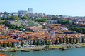 Vila nova de gaia porto portugal is on the south bank of douro river old city is registered as the unesco world heritage Stock Image