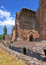Villa adriana ruins of an imperial adrian country house in tivoli near rome Royalty Free Stock Photo