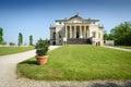 Villa almerico capra detta la rotonda frontal view of situated near vicenza in italy Royalty Free Stock Photography