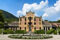 Villa Barbarigo, Pizzoni Ardemani, Valsanzibio, historic palace (16th-17th century). Royalty Free Stock Photo