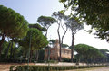 Villa borghese beautiful park in the historical center of rome italy Royalty Free Stock Image