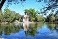 Villa borghese pinciana rome italy pincian hill Stock Image