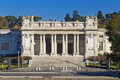 Villa borghese in rome italy the beautiful view of the Stock Image