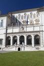 Villa borghese rome italy in a sunny day Stock Photos