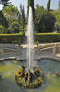Villa d'Este in Tivoli - Dragons fountain Royalty Free Stock Photo