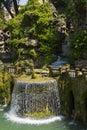Villa d este in tivoli italy fontana dell ovato the gardens of Stock Photo