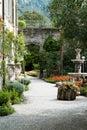 Villa Monastero Botanical Garden Royalty Free Stock Photo