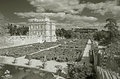 Villa pamphili in rome italy panorama of beautiful with italian garden Royalty Free Stock Image