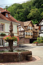 Village in Alsace Royalty Free Stock Photos