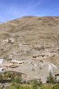 Village in the Atlas Mountains Royalty Free Stock Images