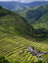 Village of batad Royalty Free Stock Photo