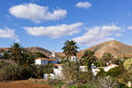 Village of Betancuria, Fuerteventura Royalty Free Stock Photo