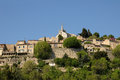 Village of bonnieux in provence france the Royalty Free Stock Photography