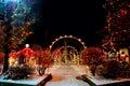 Village Christmas Royalty Free Stock Photo