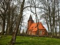 Village Church In Poland