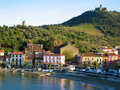 Village of Collioure Stock Images