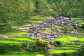 Village in Cordillera mountains Royalty Free Stock Photography