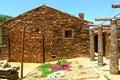 Village de schiste Image libre de droits