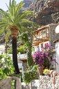 Village el guro on la gomera is one of the most beautiful and one of the smallest canary islands is known from his artists it is a Royalty Free Stock Photo