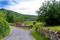 Village in england small northern Royalty Free Stock Images