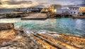 Village of es Calo - Formentera Royalty Free Stock Photo