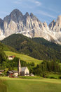 Village in the European Alps Stock Photos