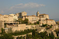 Village of gordes in provence france the Royalty Free Stock Image