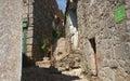 Village historique de linhares au portugal Photo libre de droits