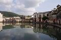 Village of HongCun, Anhui, China Royalty Free Stock Photo