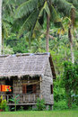 Village house in cambodia Stock Photography