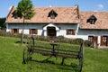 Village house with rake Royalty Free Stock Photo