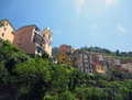Village on Italian Coast Royalty Free Stock Image