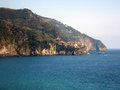 Village on Italian Coast Royalty Free Stock Images