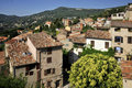 Village of  Le Bar sur Loup in France Stock Image