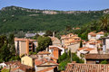 Village of  Le Bar sur Loup in France Stock Photography