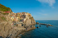 Village of Manarola, Cinque Terre, Italy Royalty Free Stock Photography