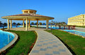 Village marsa alam egyp tafrica Royalty Free Stock Photo