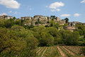 Village of menerbes in provence france the Stock Photo
