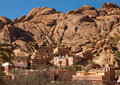Village near tafraout it is located in the anti atlas mountains in southern morocco Stock Photography