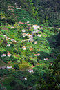 Village on the north coast of Madeira island Royalty Free Stock Image