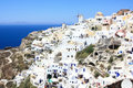 Village of oia Royalty Free Stock Photos