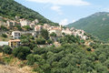 The village of olmeto on the island of corsica france Stock Photos