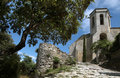 The village Oppede-le-Vieux in the Provence Stock Images