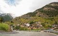 Village of Pal in Andorra Royalty Free Stock Photo