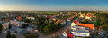 Village panorama cifer in slovakia Royalty Free Stock Photo