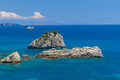 The village of Parga in Epirus Stock Photo