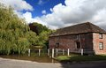 The village pond Royalty Free Stock Photo