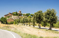 Village in the Pyrenees Royalty Free Stock Photo